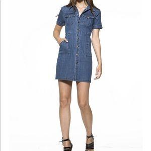 Denim Shirt Dress by Alexia Admor size Small